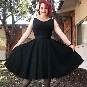 Pinup Couture Havana Nights Dress with Belt